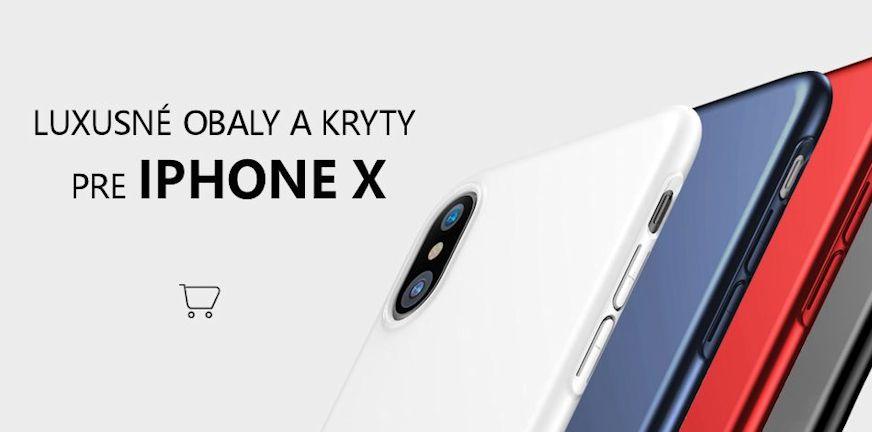 Luxusne obaly a kryty na iphone X, kryt na iphone, iphone X obal, puzdra pre iPhone