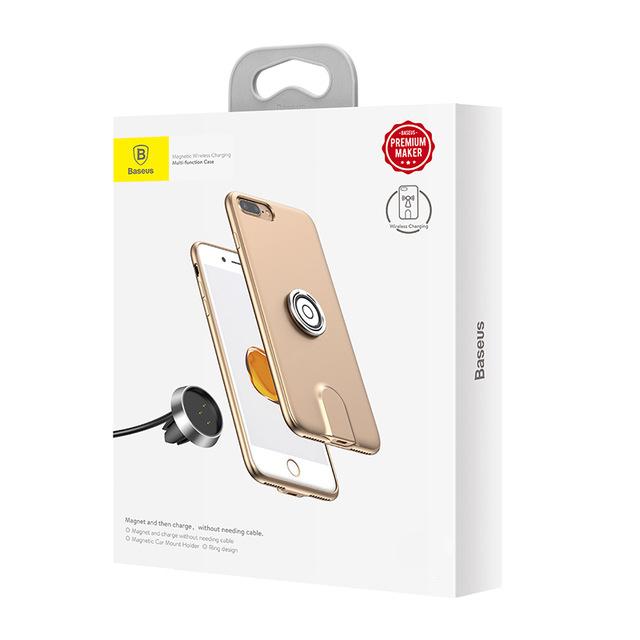 Multifunkčný obal Baseus pre iPhone 7 Plus a iPhone 8 Plus v zlatej farbe