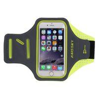 Športové púzdro na behanie pre iPhone 6, 6S, 7, 8 v zeleno-sivej farbe