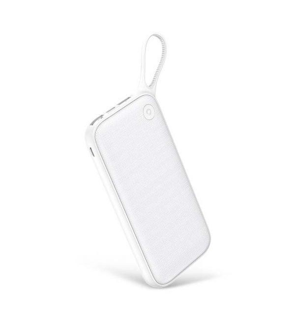 Štýlová Baseus power bank 20000 mAH, externá batéria, biela farba