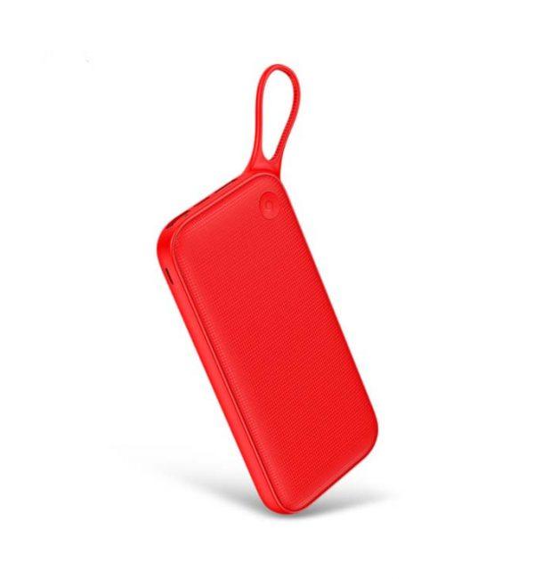 Štýlová Baseus power bank 20000 mAH, externá batéria, červená farba