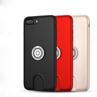 Štýlový multifunkčný obal pre iPhone 7 a iPhone 8 v čiernej farbe,,