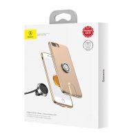 Štýlový multifunkčný obal pre iPhone 7 a iPhone 8 v zlatej farbe