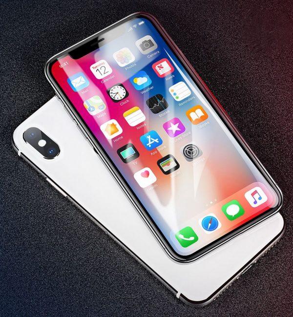 Tvrdené ochranné sklo pre iPhone X, High Definition - Vysoké rozlíšenie (2)