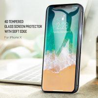 Tvrdené ochranné sklo pre iPhone X, High Definition - Vysoké rozlíšenie (3)