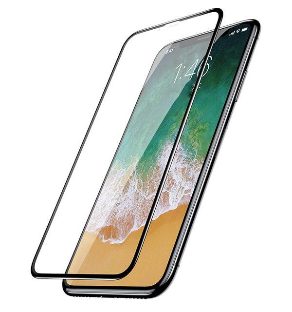 6D transparentné ochranné sklo pre iPhone X