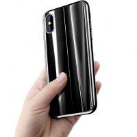 Elegantný kryt pre iPhone X v čiernom prevedení