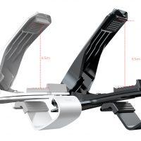 Flexibilný 360 stupňový stojan do auta Baseus