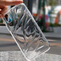 Transparentný silikónový Baseus kryt pre iPhone X