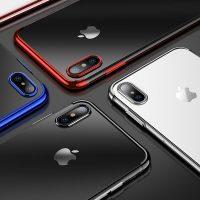 Štýlový silikónový kryt pre iPhone XS. Chráňte svoj iPHONE XS a zároveň zachovajte línie jeho kriviek aj elegantný vzhľad (1)