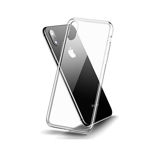 Kryt pre iPhone so zadným tvrdeným sklom a bočným silikónom
