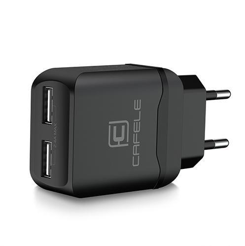 Nabíjací adaptér pre iPhone, iPad a iné zariadenia, CAFELE, čierna farba