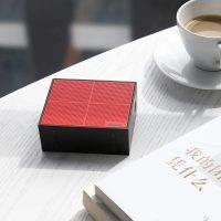 Baseus mini bluetooth reproduktor v červenej farbe-