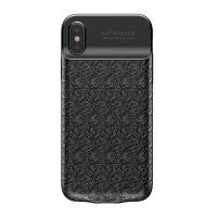 Dobíjací obal BASEUS na iPhone X, v čiernej farbe, 3500 mAh