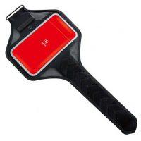 Púzdro na behanie pre mobilné telefóny do 5.0 palcov v červenej farbe-