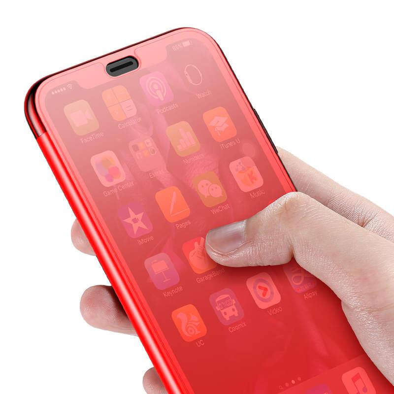 Púzdro pre iPhone Xs Max, Baseus, červená farba-