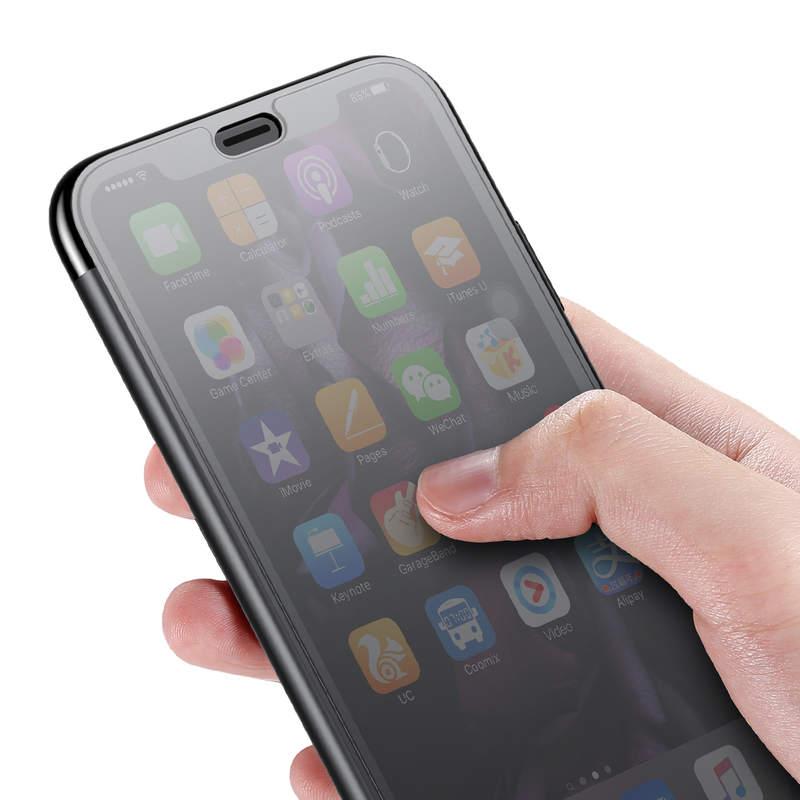 Púzdro pre iPhone Xs Max, Baseus v čiernej farbe