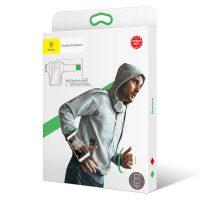 Športové púzdro na zápästie:predlaktie pre telefóny do 5.0 palcov, zelená farba