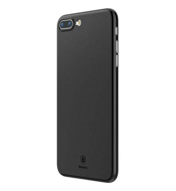 Tenký kryt pre iPhone 7Plus a 8Plus v čiernej farbe.