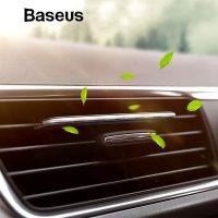 Osviežovač vzduchu Baseus Fragrance Car Paddle Air Freshener v čiernej farbe (2)