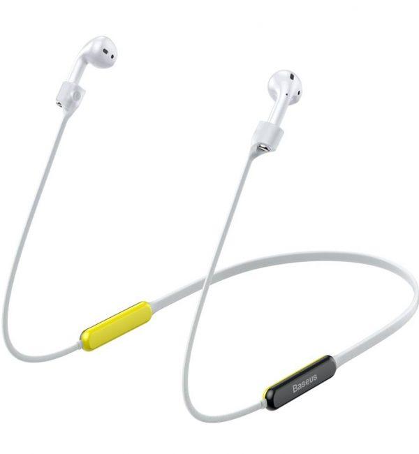 Popruh pre Apple AirPods s magnetom v šedo žltej farbe