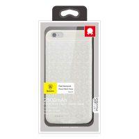 Dobíjací obal BASEUS na iPhone 6 a 6S, v krémovej farbe, 2500 mAh,