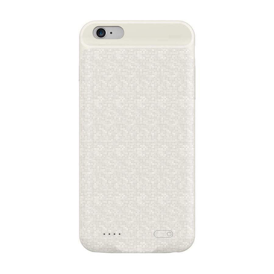 Dobíjací obal BASEUS na iPhone 6 a 6S, v krémovej farbe, 2500 mAh.
