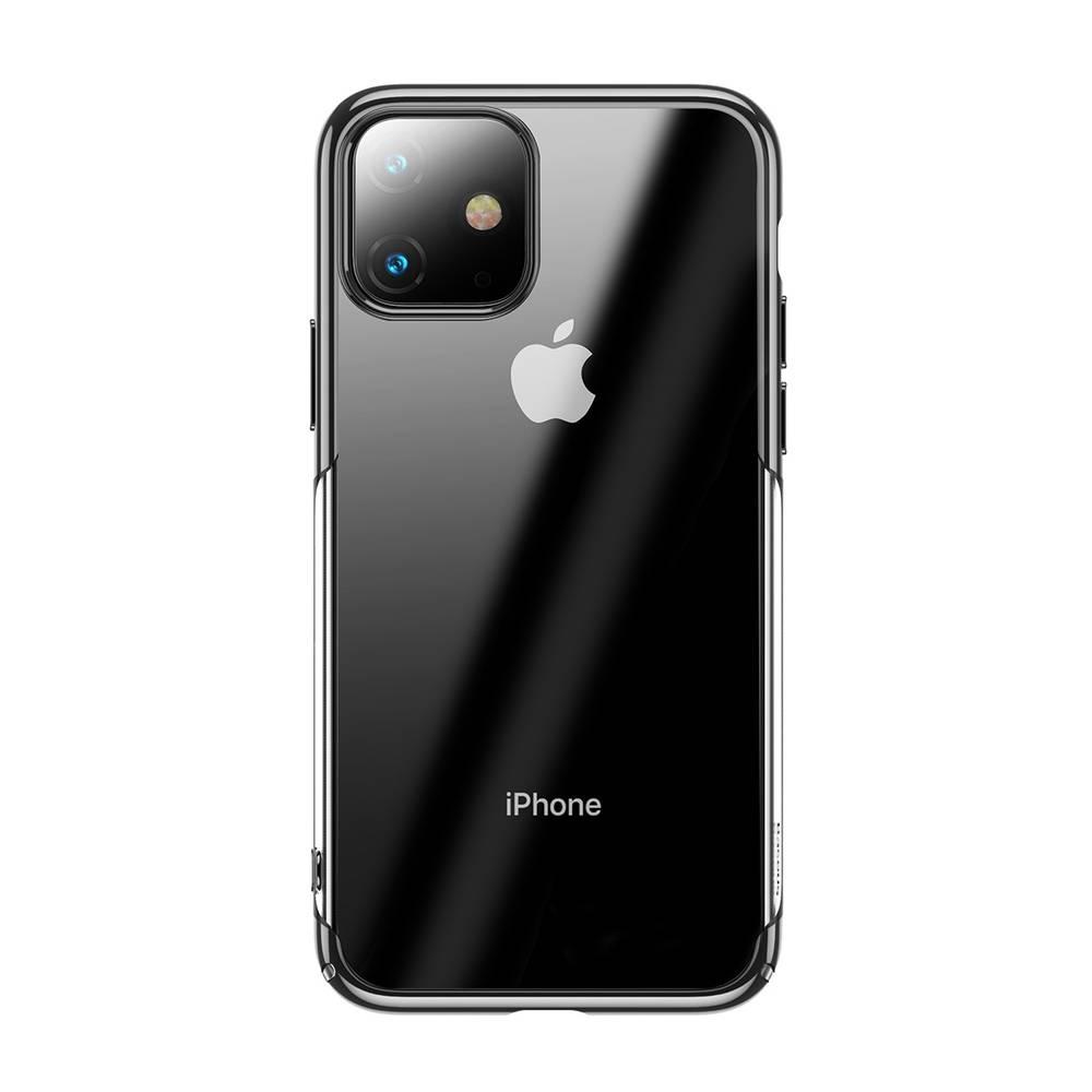 Ochranný tvrdý obal pre iPhone 11 v lesklej čiernej farbe