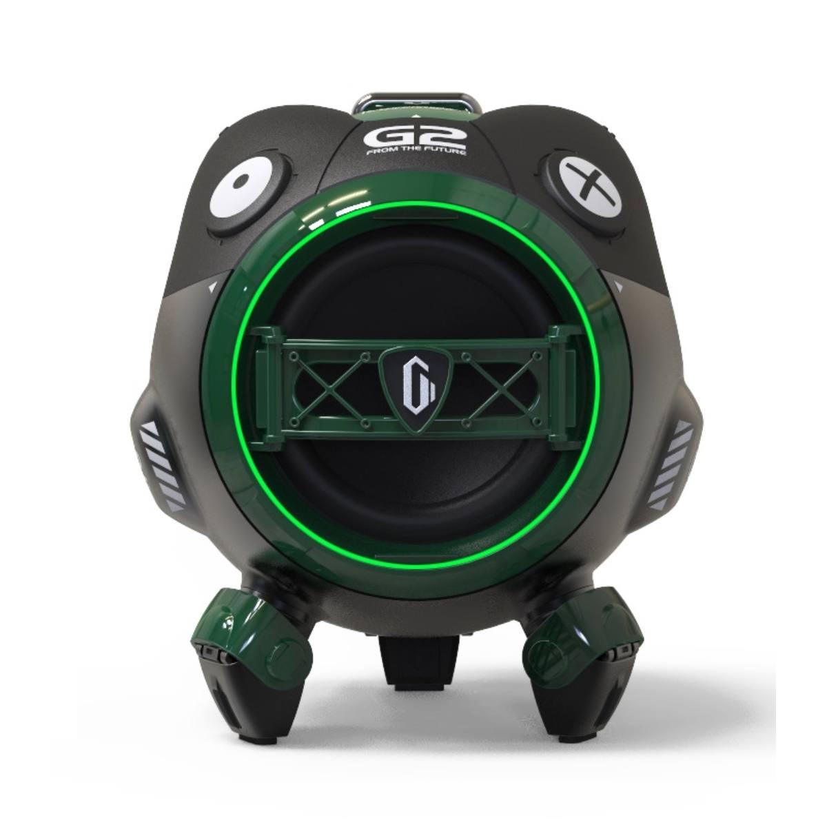 Bluetooth reproduktor Gravastar G2 Venus 10W Aurora Green