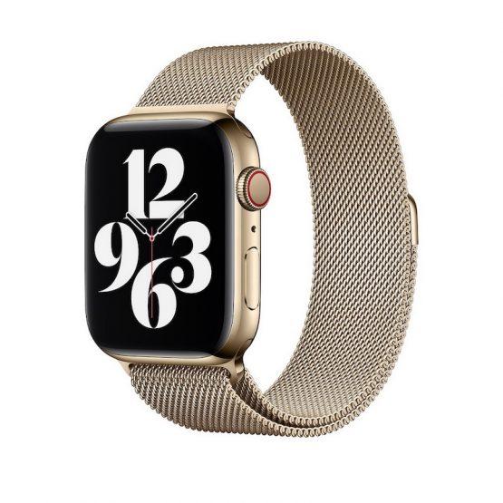 Magnetický remienok pre Apple Watch, Nerezová oceľ, 42mm / 44mm
