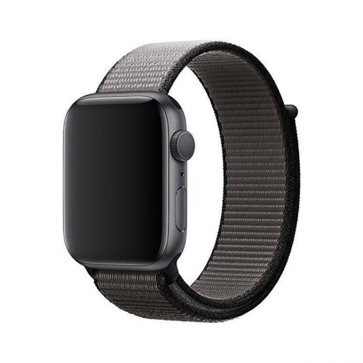 Remienok pre Apple Watch, Nylon, 38mm / 40mm, Čierny