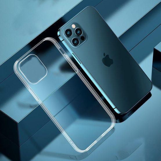 Silikónový kryt pre iPhone 13 Pro, transparentný